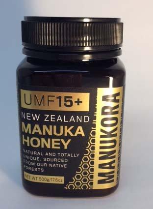 Manukora UMF 15+ (MGO 514+) Manuka Honig, 500g