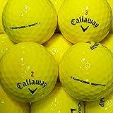 lbc-sports Callaway Chrome Soft Golfbälle - AAAA - gelb - Lakeballs - gebrauchte Golfbälle - Teichbälle (25 Bälle)