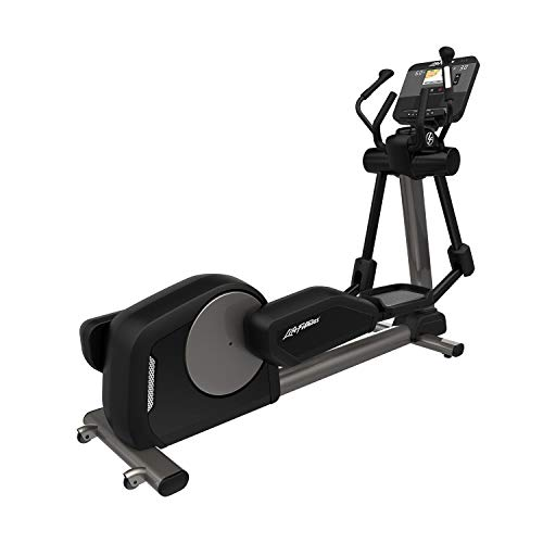 Life Fitness Club Series + Elliptical Cross Trainer with DX Console (Titanium)