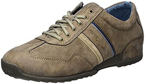 camel active Herren Space 27 Sneakers, Braun (Brown/Peat/Taupe 03), 43 EU