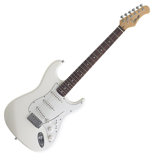 GUITARRA STAGG S300 WH STANDARD ELECTRIC S BLANCA