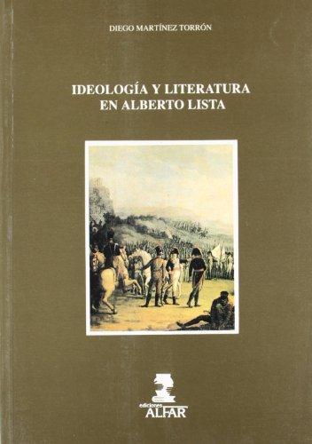 Ideologia y literatura en Alberto lista
