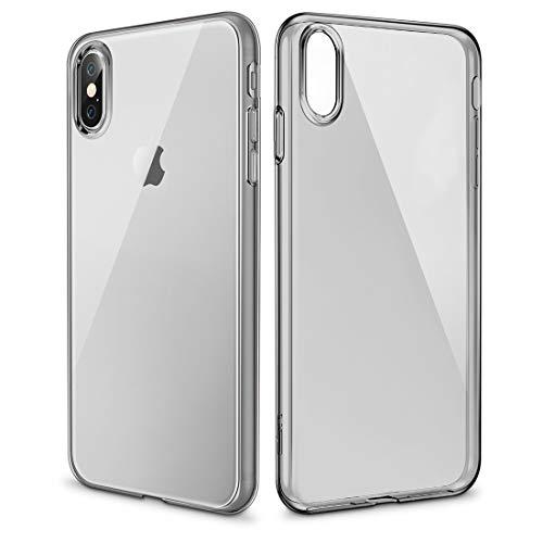Easy Go Shopping Essential Null 0.8mm ultradünner stoßsicherer weicher TPU Fall für iPhone X (Size : Ipxg0234b)