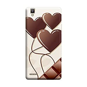 Skintice Designer Back Cover with direct 3D sublimation printing for Oppo F1