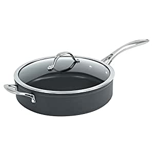 ProCook Professional Anodised Induction Saute Pan with Lid 28cm / 4.2L - SPRING OFFER!