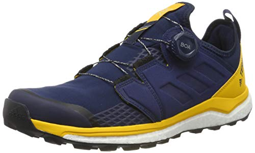 adidas Herren Terrex Agravic Boa Cross-Trainer, Blau (Collegiate Navy/Collegiate Navy/Active Gold Collegiate Navy/Collegiate Navy/Active Gold), 45 1/3 EU