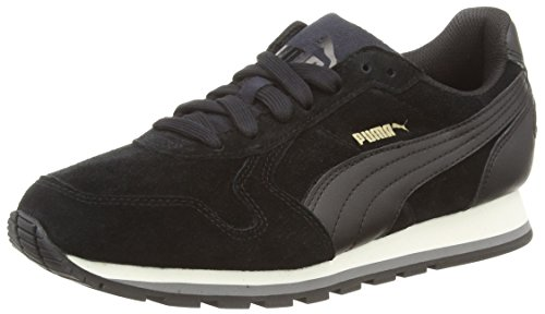 Puma ST Runner SD Sneakers Unisex, Nero (BLACK/BLACK 01BLACK/BLACK 01), 42 EU (8 UK)