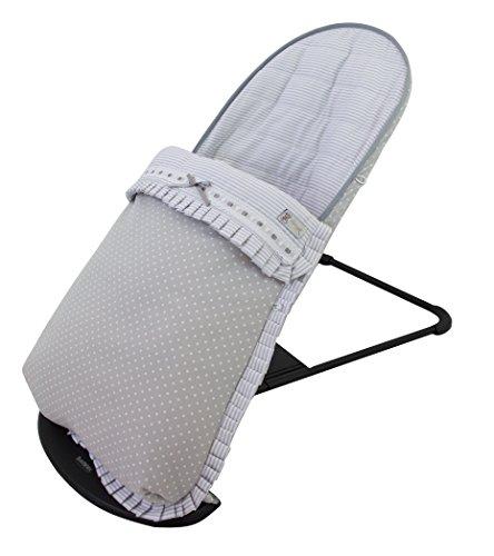 protection et sac pour hamac babybjörn Soft (remplace tapisserie Original). Verona Gris