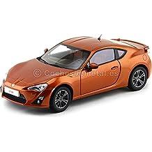 2014 Toyota GT86 C-45 Boxer Orange Metallic 1:18 Dorlop CD1806Co Cochesdemetal.