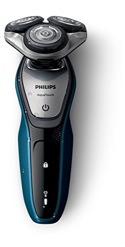 Philips AquaTouch S5420/06 - Rasoio Elettrico AquaTec Wet & Dry con Lame...