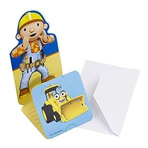 Bob der baumeister einladungskarten kindergeburtstag for Amazon einladungskarten