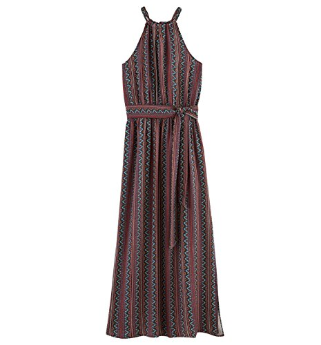 Promod Longue robe imprimée Femme Imprimé multicolore