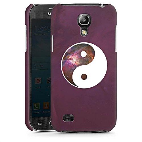 DeinDesign Handyhülle kompatibel mit Samsung Galaxy S4 Mini Hülle Premium Case Ying Yang Galaxie Galaxy