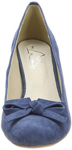 Andrea Conti 3005701, Escarpins Bout Fermé Femme Bleu jean