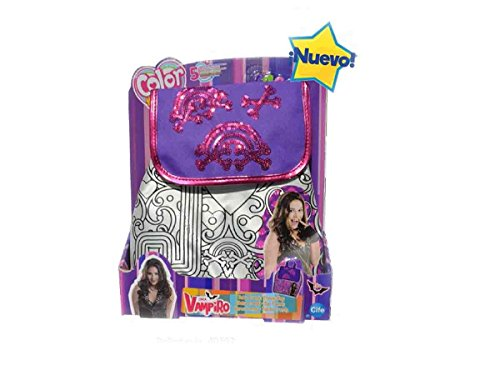 Color Me Mine- Mochila Chica Vampiro, Multicolor (Cife Spain 40392)
