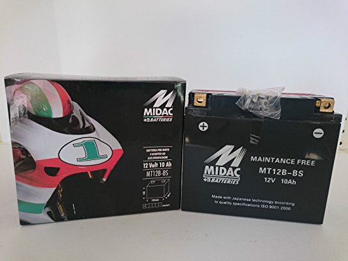 BATTERIA MOTO MIDAC MT12B-BS (YT12B-BS)