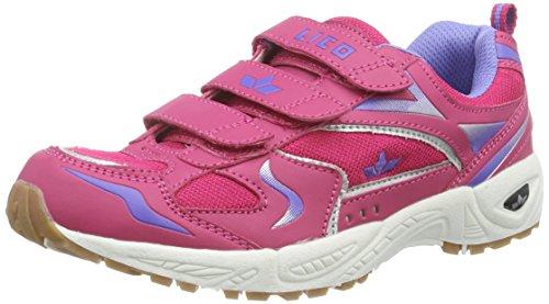 Lico Bob V, Scarpe sportive indoor Ragazza Rosa (Pink (Pink/Lila))
