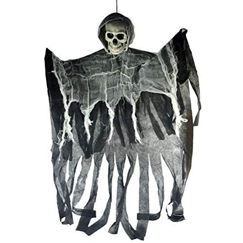 Beste Scary Halloween Dekorationen - Wakness Halloween Dekoration Hängende Ghost Skeleton