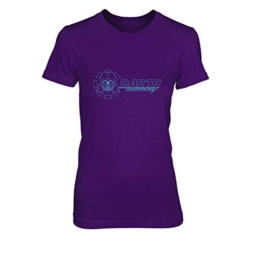 Darth Industries - Damen T-Shirt, Größe: XL, Farbe: lila