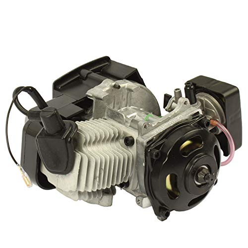 Pocket Bike Motor 49ccm mit Vergaser Dirt Bike ATV Mini Quad Kinderquad Motoren 3,5 PS (49ccm)