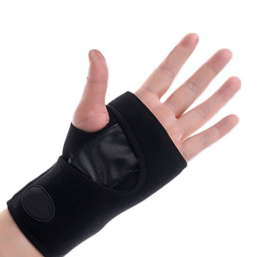 gelenk Klammer Verband Support Armband Gewichtheben Badminton Volleyball Basketball Fitness Schwarz Für Frauen Männer (Volleyball-armbänder)