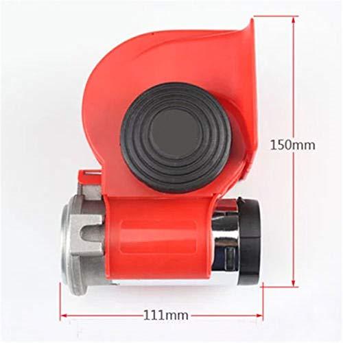 12 V Compact Dual Tone Air Horn Escargot de Voiture Compact Dual Tone Pompe électrique sirène Truck Cornes Stock