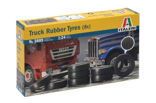1:24 LKW-Reifen, 8 Stück (Mini Reifen)