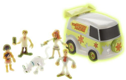 Scooby-Doo - Misterio de Van + 5 Figuras Glow in the Dark (varios modelos)