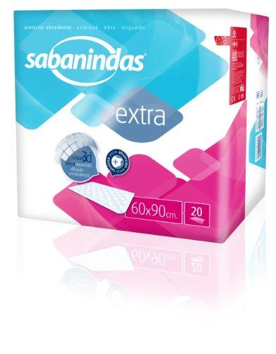 Sabanindas Protegecolchón 60 X 90 cm. 20 uds.