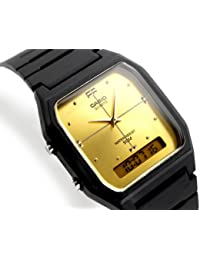 Casio Reloj Classic Digital Dual tiempo para hombre, resistente al agua 50 metros, con
