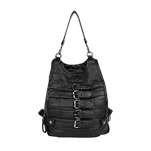 Angelkiss, Borsa a zainetto donna 11*4.7*15 nero
