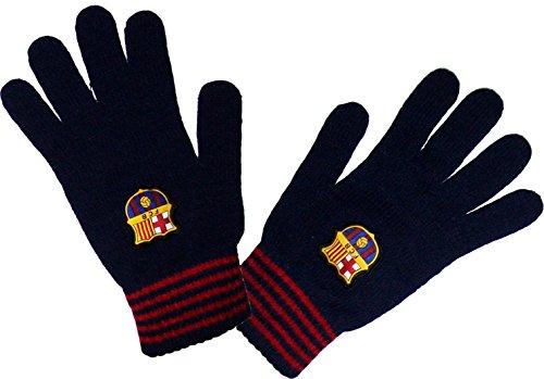 Handschuhe Barça, offizielles Produkt von FC Barcelona, Erwachsenengröße, für Herren - L/XL (Barcelona Handschuhe)