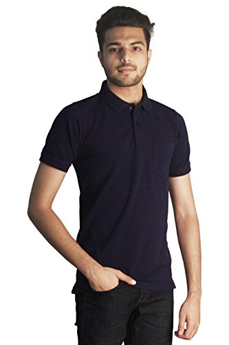 Tapasya Denium Blue Polo T-Shirt