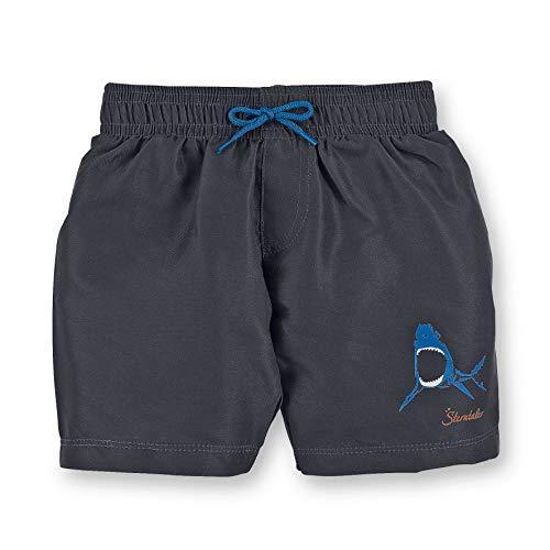 Sterntaler Kinder Jungen Badeshort, UV-Schutz 50+, UV-Schutz 50+, Alter: 2-3 Jahren, Größe: 86/92, Eisengrau