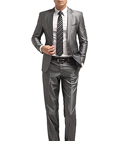 Herren Business Anzug 1-Knopf-Anzugjacke mit