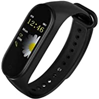 SBA A006 M4 Plus Bluetooth Wireless Smart Fitness Band for Boys/Men/Kids/Women | Sports Watch Compatible with Xiaomi, Oppo, Vivo Mobile | Heart Rate and BP Monitor, Calories Counter