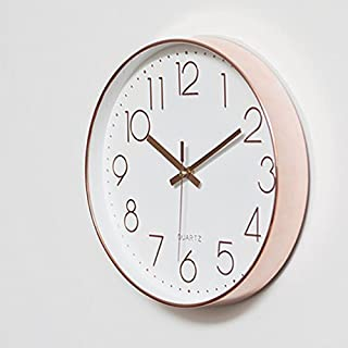 Fwerq Wanduhr Wohnzimmer Modernes, Minimalistisches Stille Art Und Weise  Kreative Schlafzimmer Quarzuhren Round Clock Select