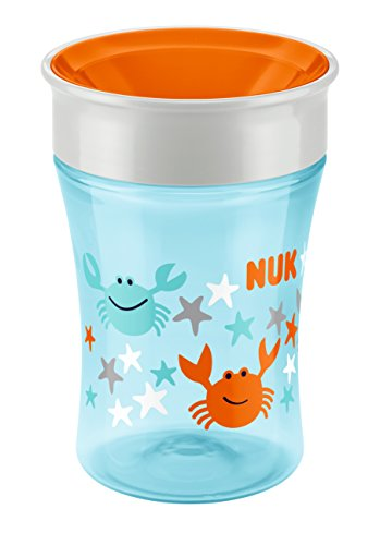 nuk-magic-360-tasses-250-ml-8-mois-orange-crabe-lot-de-1