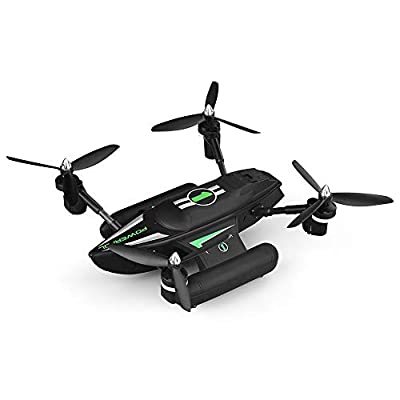 ZYSMC Drone with Camera, Sea, land and air amphibious spacecraft remote control gliding drone Trajectory Flight 3D VR 2.4GHz 6Axis Gyro Headless Mode iPhone & Android APP Remote