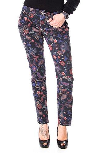 Please P57 P57EHD2WA4 SCHLANKE Slim FIT Jeans FÜR Damen m dunkelgrau