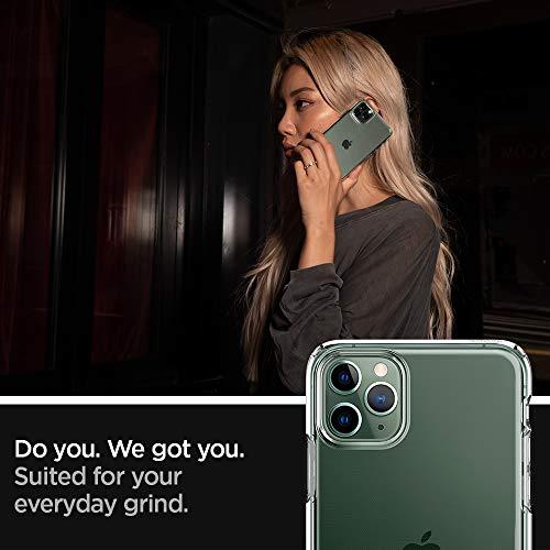 Spigen Coque iPhone 11 Pro [Liquid Crystal] Souple, Légère, Ajustement Parfait, Protection aux 4 Coins - [Air Cushion] Coque Compatible avec iPhone Pro - Crystal Clear