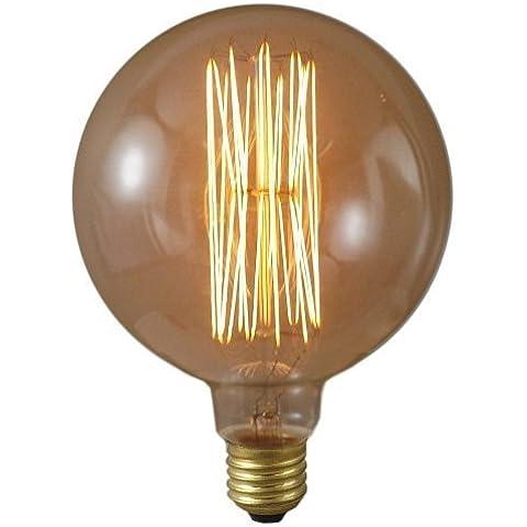 Lightstyl - Lampadina Edison Sfera dia. 95mm - DECL-133 - Design Retro Vintage Decorativo