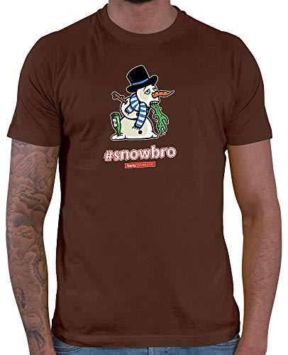 HARIZ  Herren T-Shirt Pixbros Snowbro Xmas Weihnachten -