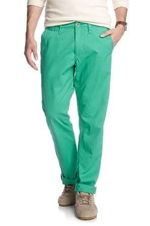ESPRIT MCAS N32C67 Slim Men's Trousers Grasshoopper Green W30 INxL32 IN