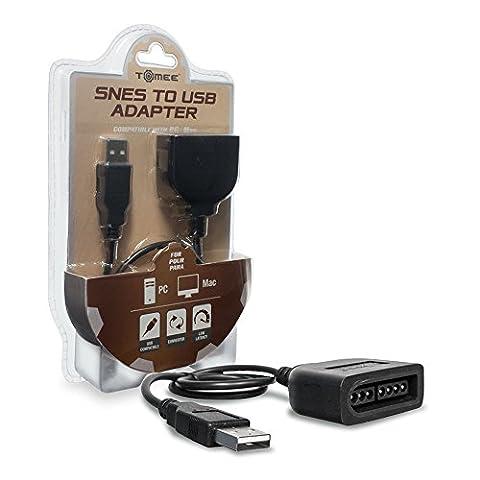 Adaptateur USB pour utiliser votre manette Super Nintendo SNES sur PC