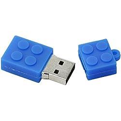 Ladrillo Lego Memoria USB 2.0 - 8 GB (disponible varios colores y 16, 32, 64 y 128 GB)