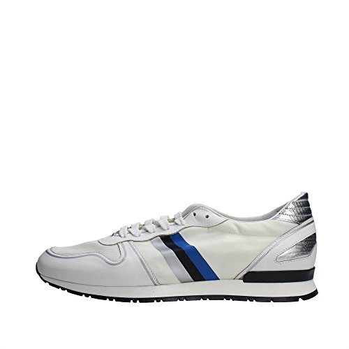Serafini CAMP.89 Sneakers Uomo Pelle Bianco Bianco 45
