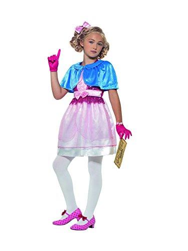 SMIFFY 'S 41543s Roald Dahl Deluxe Veruca Salz Kostüm, pink, klein
