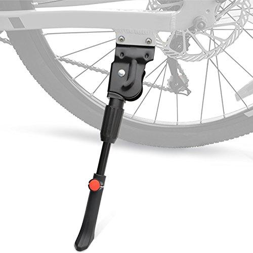"""USONG Fahrradständer Fahrradständer für Mountainbike und Rennrad - Fahrradzubehör Verstellbarer Stahl Fahrradständer Passt 20\"""" 22\"""" 24\"""" 26\"""" Zoll Fahrrad"""