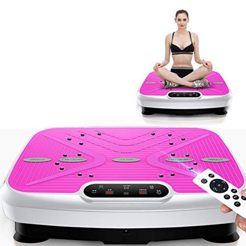 ZBAM Vibrationsplatte Fitnessgeräte für zu Hause, Vibrationsplatte, Gewichtsausgleich, Fernbedienungsgurte und Widerstandsbänder im Lieferumfang enthalten